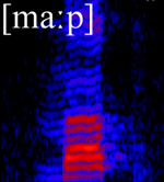 Spektrogramm [ma:p]