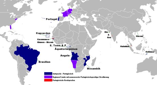 Die portugiesischsprachige Welt