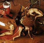 Ausschnitt aus Boschs Jüngstem Gericht