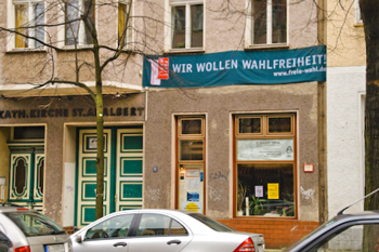 """Transparent der Pro-Reli-Kampagne: """"Wir wollen Wahlfreiheit"""""""