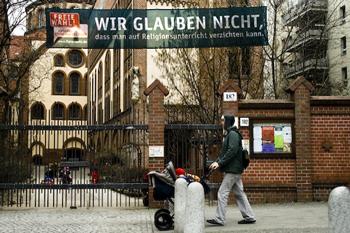 """Transparent der Pro-Reli-Kampagne: """"Wir glauben nicht, dass man auf Religionsunterricht verzichten kann"""""""