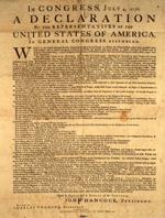Unahbängigkeitserklärung der USA