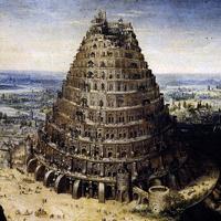 Lucas Van Valckenborch: Tour de Babel (Detail)