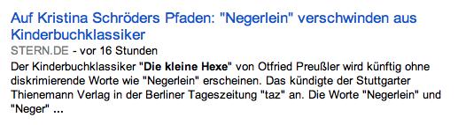 """Auf Kristina Schröders Pfaden: """"Negerlein"""" verschwinden aus Kinderbuchklassiker"""