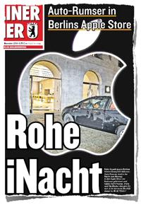 Berliner Kurier – Rohe iNacht